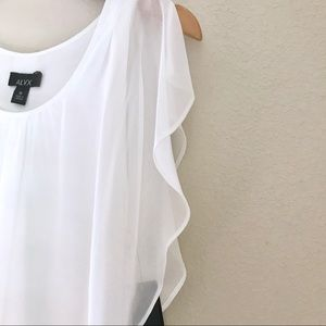 Alyx Tops - Alyx | Asymmetrical Split Sleeve Flowy Blouse
